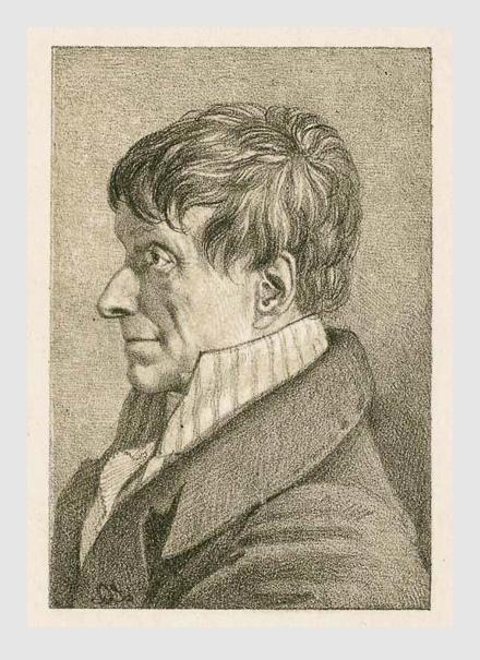 Lorenz Quaglio: Johann Christian von Mannlich. ca. 1820. Porträtsammlung des Münchner Stadtmuseums.