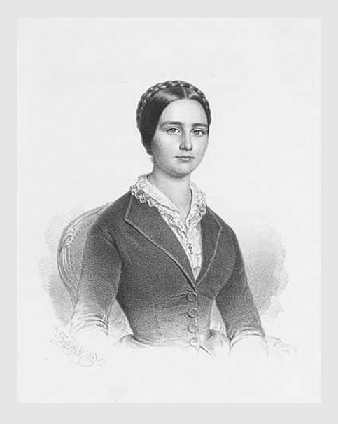 Ignaz Fertig: Marie von Eichthal. 1847. Porträtsammlung des Münchner Stadtmuseums.
