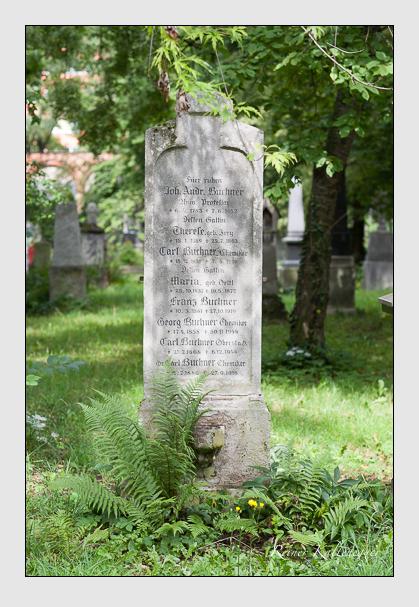 Grab der Familie Buchner auf dem Alten Südfriedhof München (Juli 2007)