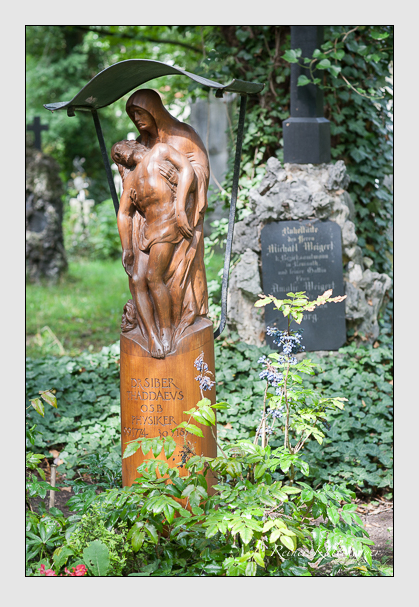 Grab der Familie Siber auf dem Alten Südfriedhof München (Juli 2007)