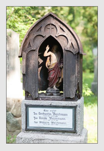 Grab der Familie Weichmann auf dem Alten Südfriedhof München (August 2007)