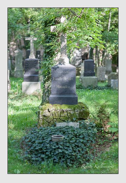 Grab der Familien Heyder · Himmler auf dem Alten Südfriedhof München (August 2007)