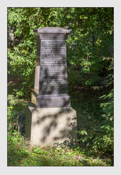 Grab der Familie Feder auf dem Alten Südfriedhof München (September 2007)