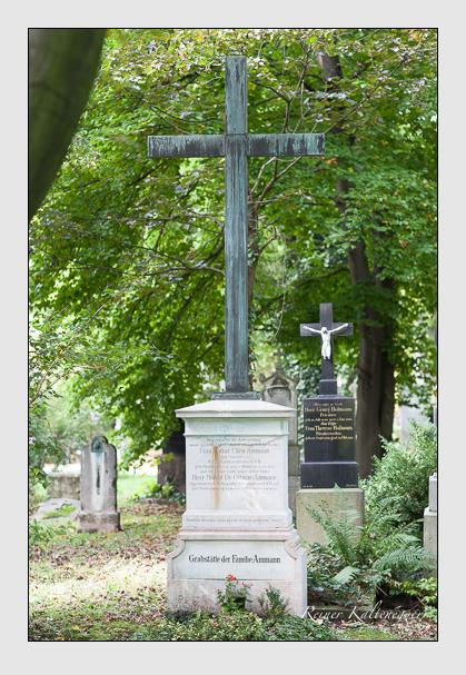 Grab der Familie Ammann auf dem Alten Südfriedhof München (August 2007)