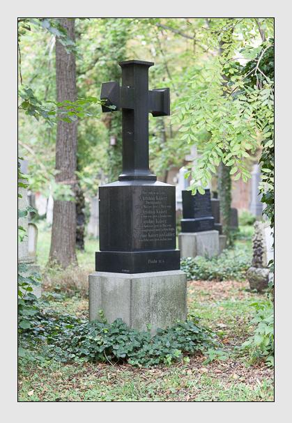 Grab der Familie Kaiser auf dem Alten Südfriedhof München (September 2007)