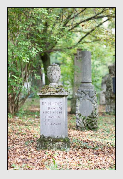 Grab der Familie Braun auf dem Alten Südfriedhof München (Oktober 2007)