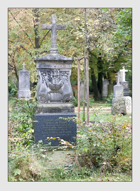 Grab der Familie Pranckh auf dem Alten Südfriedhof München (Oktober 2007)