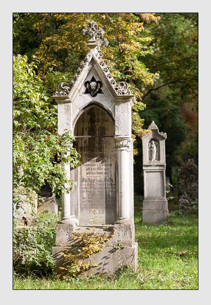Grab der Familie Foltz auf dem Alten Südfriedhof München (Oktober 2007)