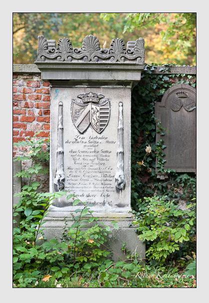 Grab der Familien Freyberg & Freyberg-Eisenberg auf dem Alten Südfriedhof München (Oktober 2007)
