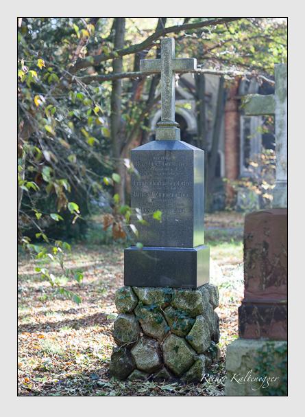 Grab der Familien Gerstorfer · Zimmermann auf dem Alten Südfriedhof München (Oktober 2007)