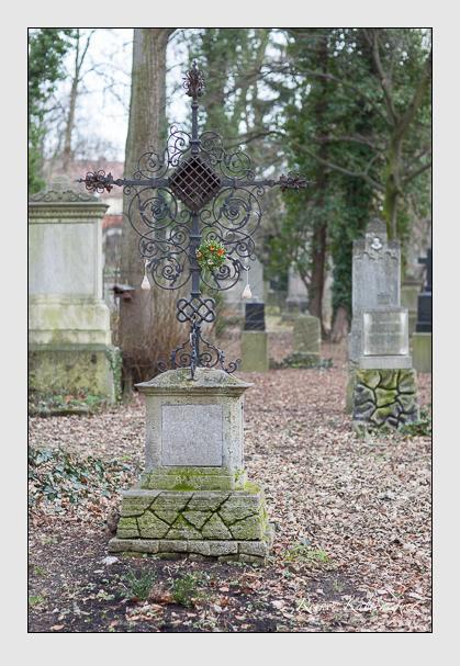 Grab der Familie Buchetmann auf dem Alten Südfriedhof München (Februar 2008)