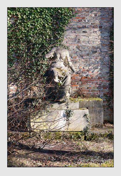 Grab der Familie Hänle auf dem Alten Südfriedhof München (Februar 2008)