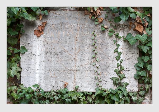 Grab der Familie Sager auf dem Alten Südfriedhof München (März 2008)