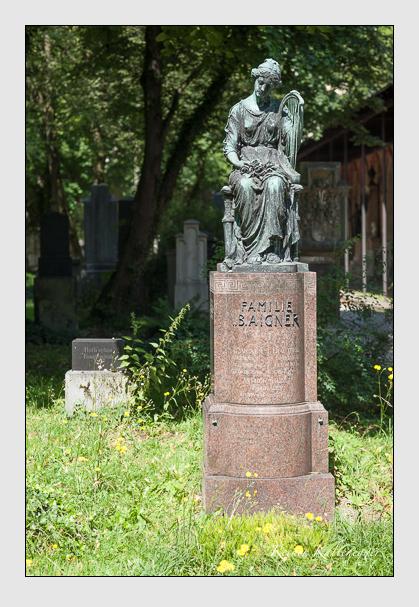 Grab der Familien Aigner & Stark auf dem Alten Südfriedhof München (Juli 2008)