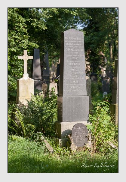 Grab der Familie Riedel auf dem Alten Südfriedhof München (Juli 2008)