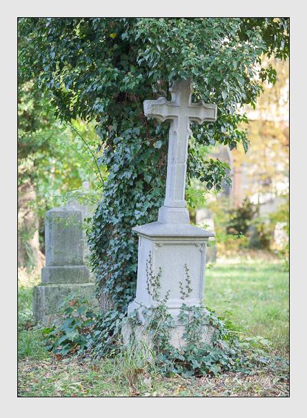 Grab der Familie Fenzl auf dem Alten Südfriedhof München (Oktober 2008)