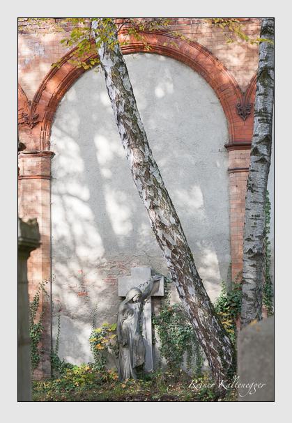 Grab der Familie Jäger auf dem Alten Südfriedhof München (Oktober 2008)
