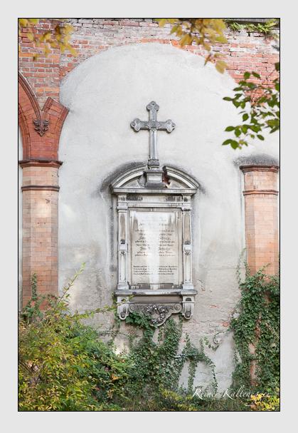 Grab der Familie Selmayr auf dem Alten Südfriedhof München (Oktober 2008)