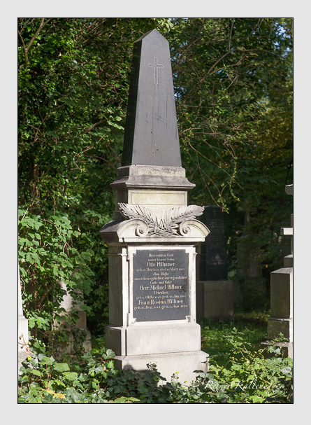 Grab der Familie Hillmer auf dem Alten Südfriedhof München (August 2011)