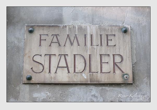 Grab der Familie Stadler auf dem Alten Südfriedhof München (September 2011)