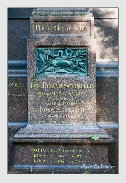 Grab der Familie Schindler auf dem Alten Südfriedhof München (September 2011)