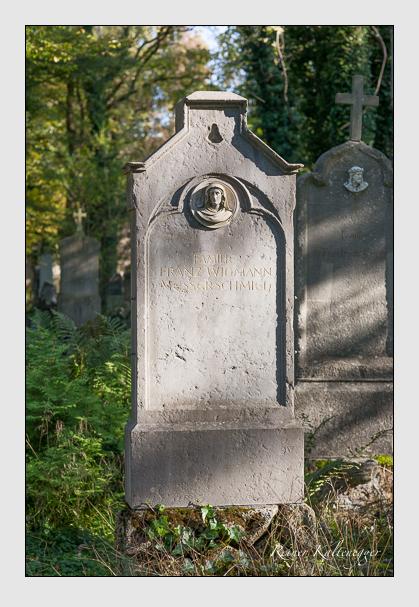 Grab der Familie Widmann auf dem Alten Südfriedhof München (Oktober 2011)