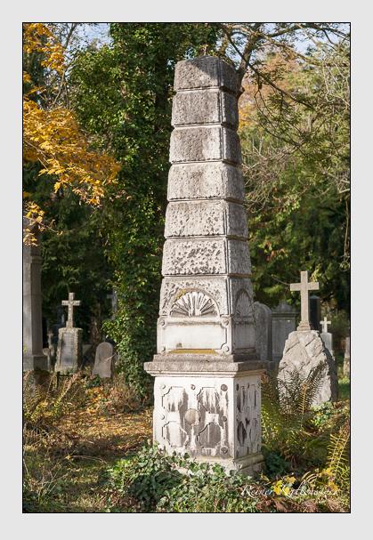 Grab der Familie Aufleger auf dem Alten Südfriedhof München (Oktober 2011)