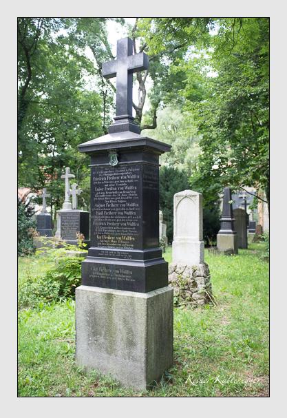 Grab der Familie Wulffen auf dem Alten Südfriedhof München (August 2012)