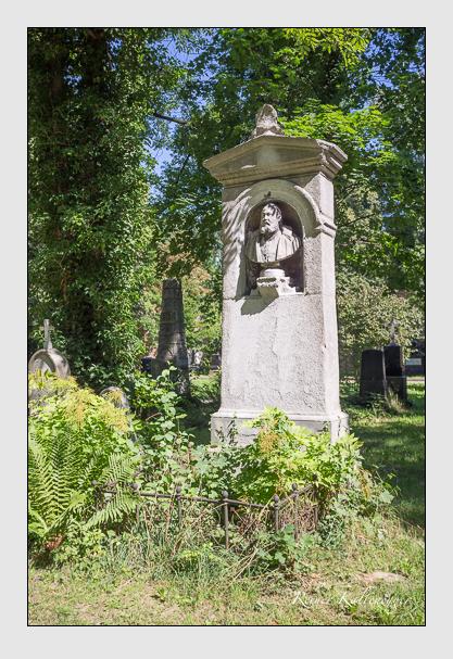 Grab der Familie Solbrig auf dem Alten Südfriedhof München (August 2012)
