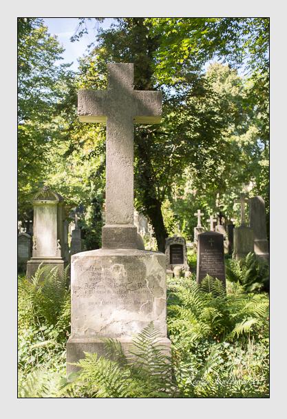 Grab der Familie Ranke auf dem Alten Südfriedhof München (September 2012)
