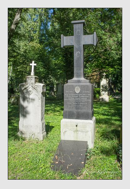 Grab der Familie Leitmeier auf dem Alten Südfriedhof München (September 2012)