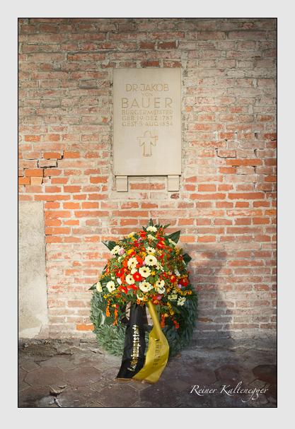 Grab der Familie Bauer auf dem Alten Südfriedhof München (Dezember 2012)
