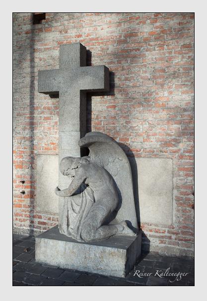 Grab der Familie Buchner auf dem Alten Südfriedhof München (Dezember 2012)