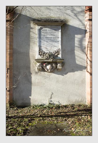Grab der Familien Christen & Christen-Ziegler auf dem Alten Südfriedhof München (Dezember 2012)