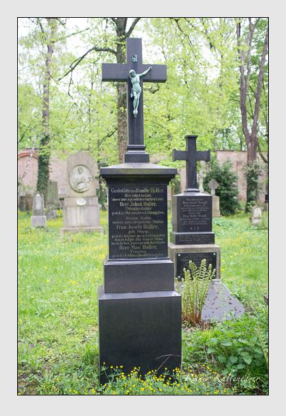 Grab der Familie Holler auf dem Alten Südfriedhof München (Mai 2013)
