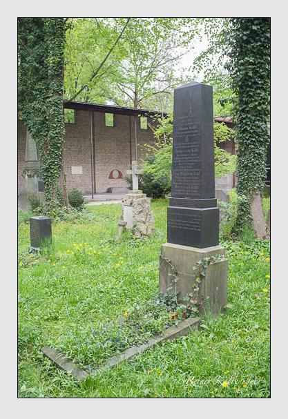 Grab der Familie Kohl auf dem Alten Südfriedhof München (Mai 2013)