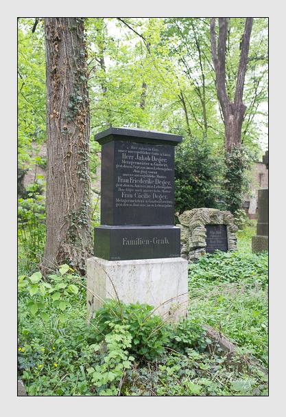 Grab der Familie Deger auf dem Alten Südfriedhof München (Mai 2013)