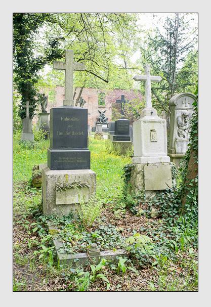 Grab der Familien Löffelholz & Riedel & Strauß auf dem Alten Südfriedhof München (Mai 2013)