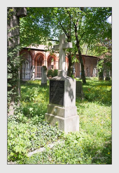 Grab der Familie Pestalazzi auf dem Alten Südfriedhof München (Mai 2013)