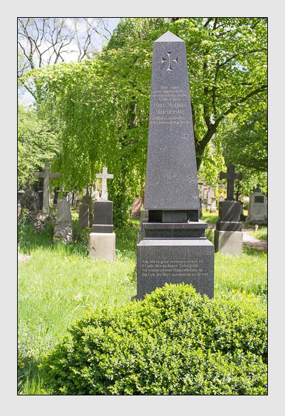 Grab der Familie Maienrieder auf dem Alten Südfriedhof München (Mai 2013)