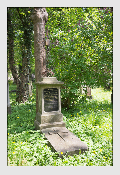 Grab der Familien Kirchner & Kolb auf dem Alten Südfriedhof München (Mai 2013)