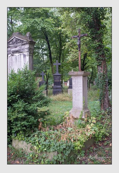Grab der Familie Scheibmaier auf dem Alten Südfriedhof München (August 2013)