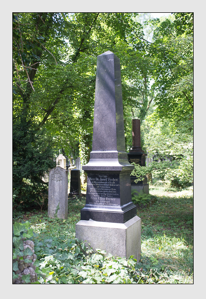 Grab der Familie Ferber auf dem Alten Südfriedhof München (August 2013)