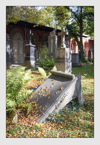 Grab der Familie Martin auf dem Alten Südfriedhof München (Oktober 2013)