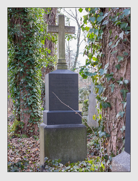 Grab der Familie Rosner auf dem Alten Südfriedhof München (Dezember 2013)