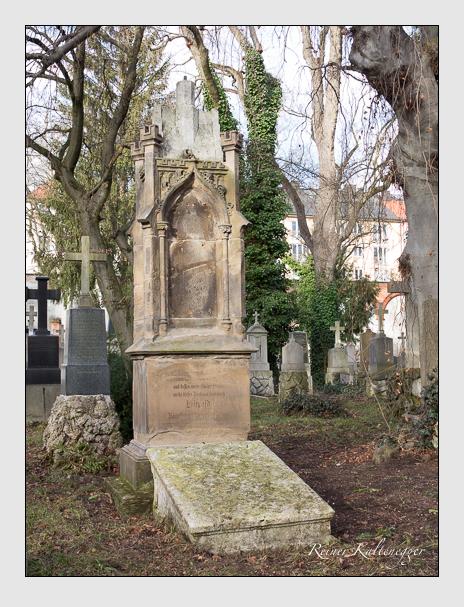 Grab der Familie Hagens auf dem Alten Südfriedhof München (Dezember 2013)