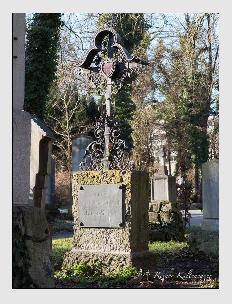 Grab der Familie Kobler auf dem Alten Südfriedhof München (Dezember 2013)