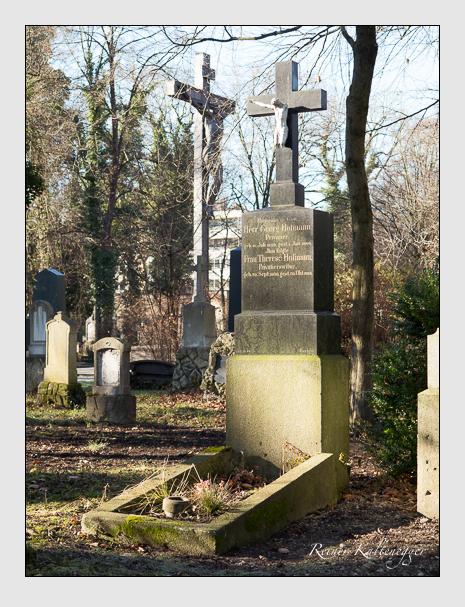 Grab der Familie Hofmann auf dem Alten Südfriedhof München (Dezember 2013)