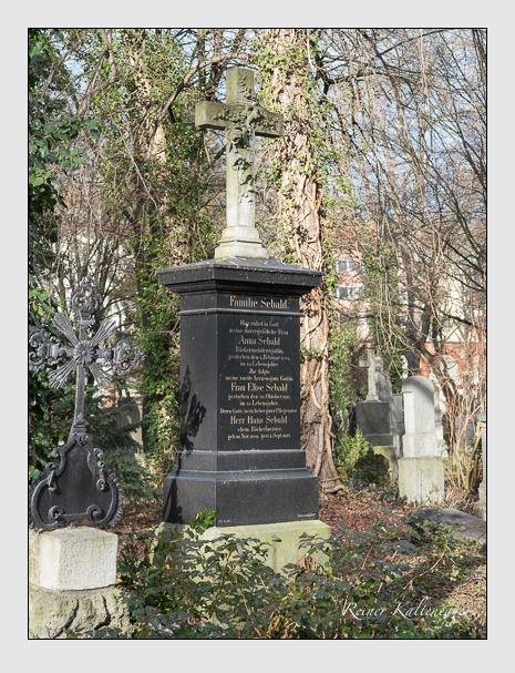 Grab der Familie Sebald auf dem Alten Südfriedhof München (Januar 2014)