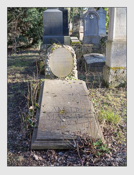 Grab der Familien Makart · Roithmayr auf dem Alten Südfriedhof München (Februar 2014)